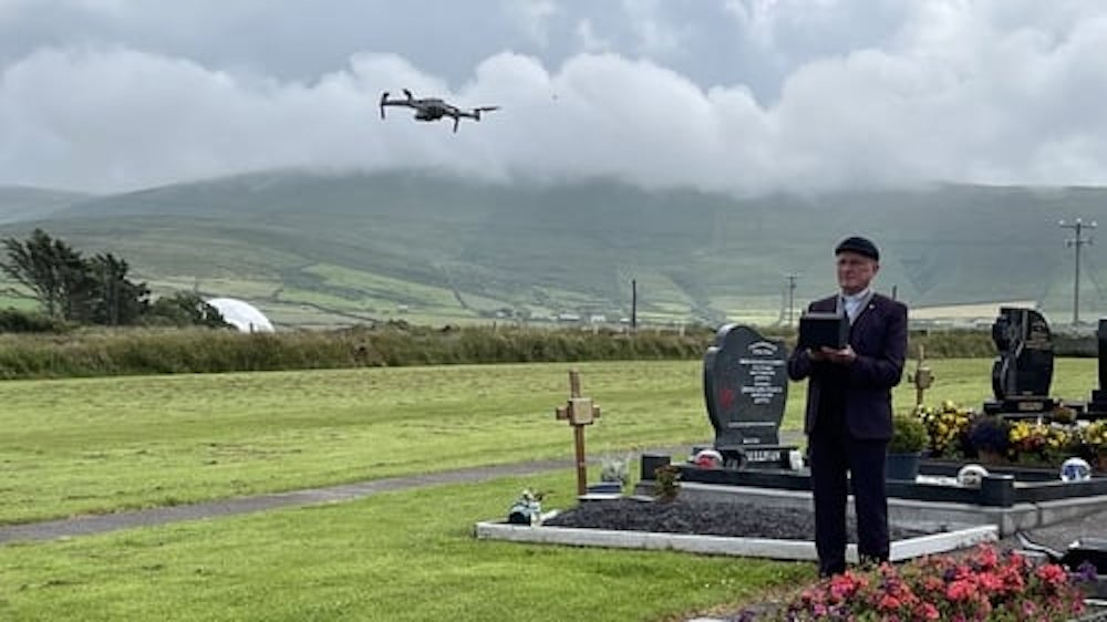 Kerry priest to fly drone for cemetery mass broadcasts and live stream